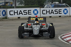IndyCar Servia scores top-five run in Belle Isle
