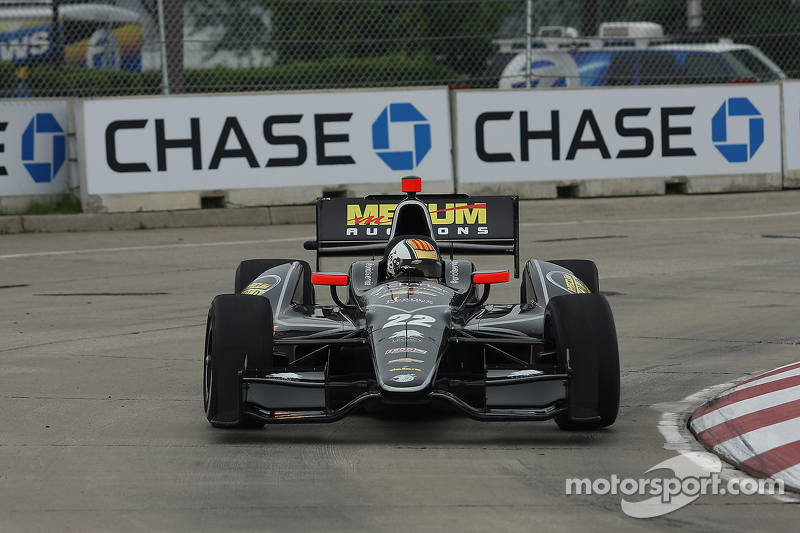 Servia scores top-five run in Belle Isle