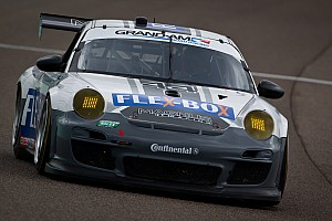 Grand-Am Three Porsches in Mid-Ohio top-10