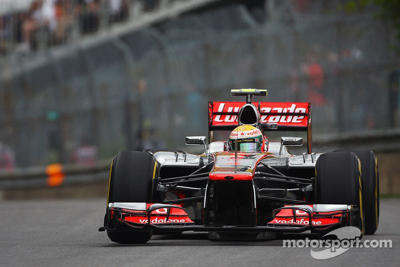Hamilton sprints to Canadian GP victory