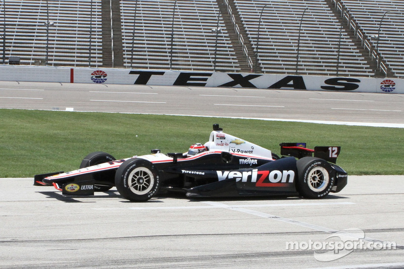 Team Penske posts trio of top-eight finishes at Texas Motor Speedway