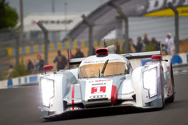 Audi tops the charts with 1-2-3-4 in first practice at Le Mans