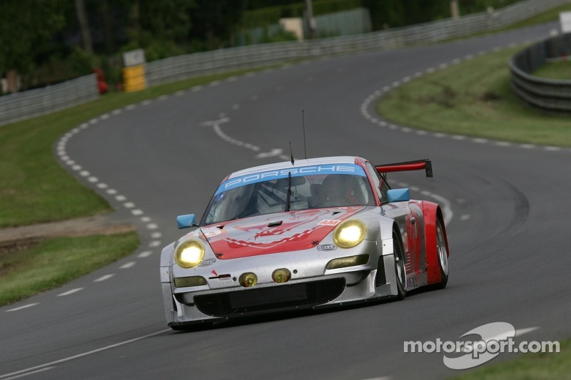Flying Lizard No. 79 fourth in GTE Am at Le Mans