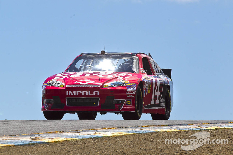Tony Stewart second in Sonoma