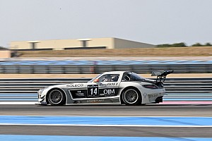Sun shines on KRK Racing Mercedes in BES pre-qualifying