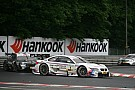 BMW drivers Tomczyk and Spengler on the podium at the Norisring