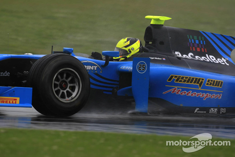 Ocean Racing Technology  at the foot of the podium at Silverstone