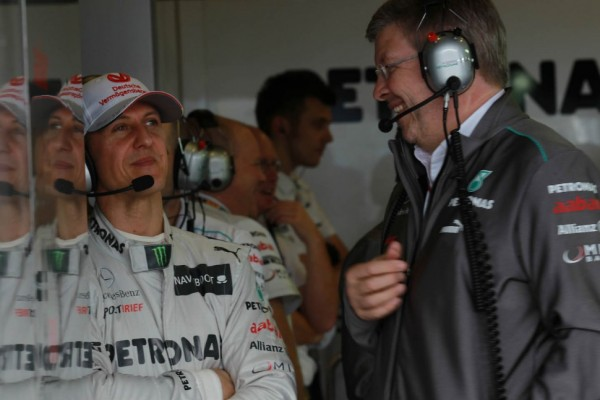 Schumacher to stay in 2013 - Brawn says 'why not?' 