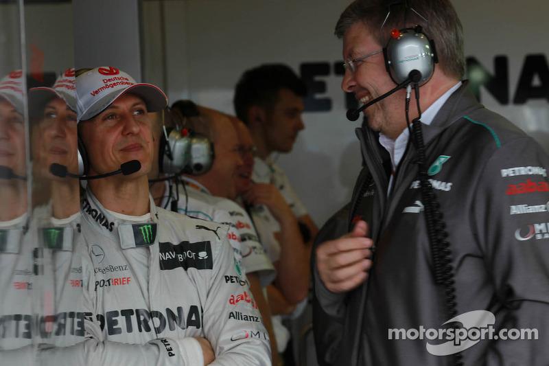 Schumacher 2013 Schumacher to Stay in 2013