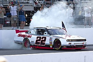 NASCAR XFINITY Race report Keselowski wins Loudon with late-race pass