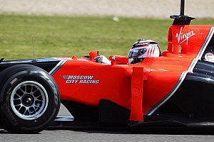 Formula 1 Breaking news Marussia F1 team dazzles at Moscow motorsports event