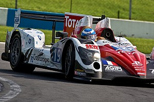 The No. 35 Oak Racing Morgan-Nissan clinches maiden victory
