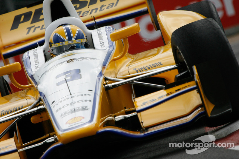 Helio Castroneves leads first day of Edmonton Indy practice