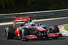 Button not denying contact with Ferrari