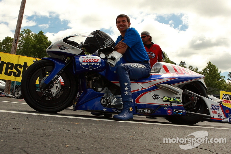 Arana family spicing up Pro Stock Motorcycle racing at Sonoma