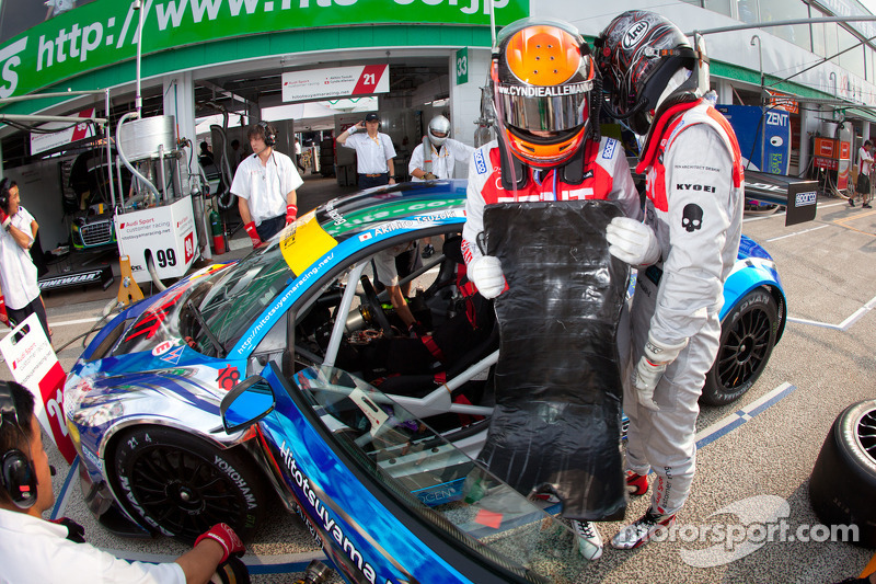 Super GT Sugo: new track, new learning experience for Cyndie Allemann