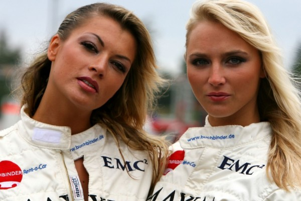 German DTM Grid Girls