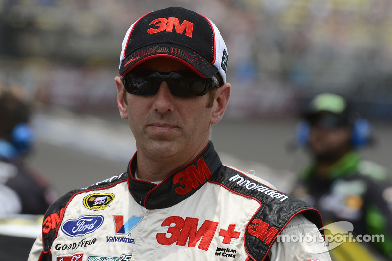 Greg Biffle pleased with Monday's Goodyear tire test at Michigan