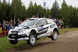 WRC Leg report Battling Ford duo, Jari-Matti Latvala & Miikka Anttila hold third and fourth in Finnish speedfest