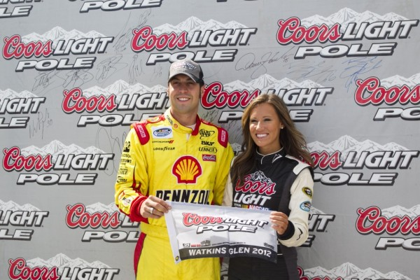 Hornish Jr grabs his maiden series pole at Watkins Glen