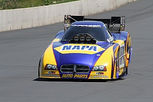 NHRA Preview Capps wants to take the Funny Car points lead at Brainerd