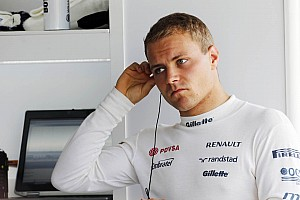 Bottas admits Williams race debut 'ideal'
