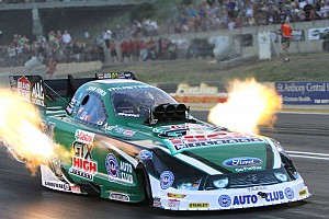 NHRA Qualifying report Rain delay shakes up field on Brainerd Saturday