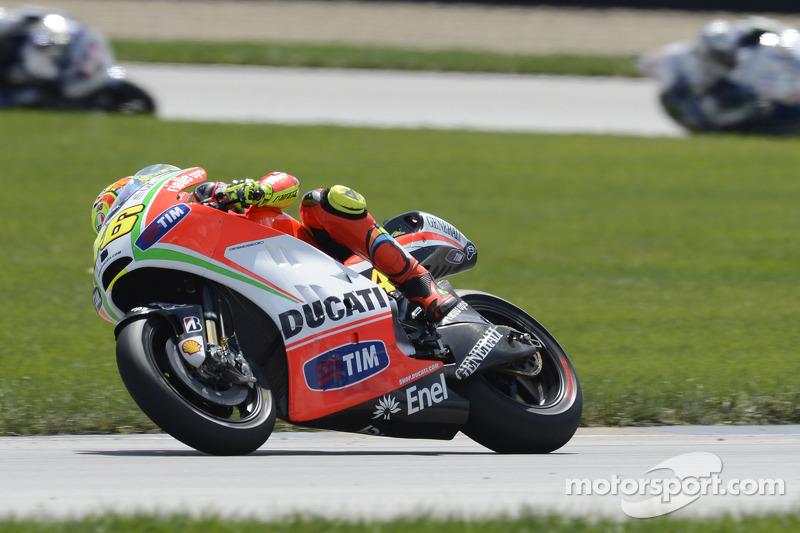 Rossi seventh at Indianapolis Grand Prix