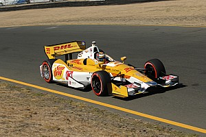 IndyCar Qualifying report Mid-field start for Andretti Autosport at Sonoma