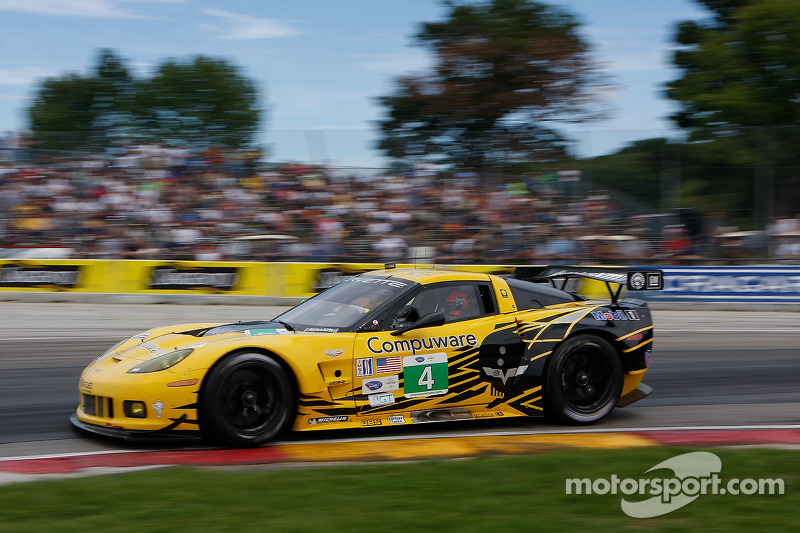Chevrolet Racing's GT championship battle resumes Saturday in Baltimore