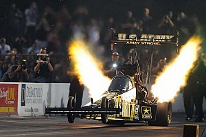 NHRA Qualifying report Schumacher, Beckman, Enders and Hines lead qualifying Friday at Indianapolis
