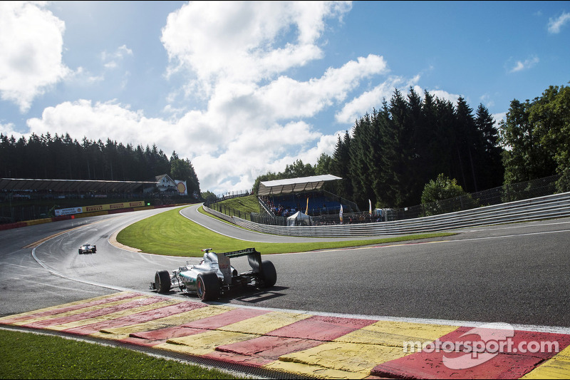Disappointing qualifying for Mercedes at Belgian GP