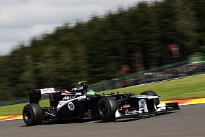 Disappointing race day for Williams on Belgian GP