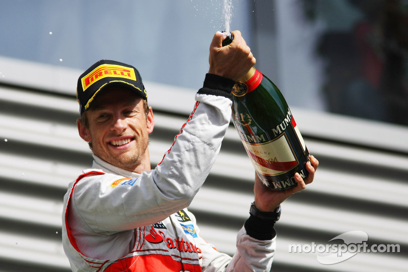 Button takes his second win of the year with Pirelli