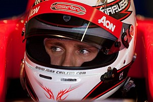 GP2 Practice report Chilton sets the pace in Monza practice