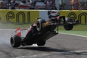 Formula 1 Breaking news Another flying moment at Monza