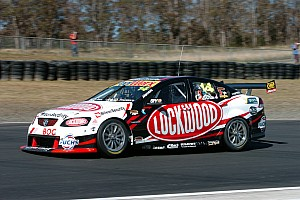 V8 Supercars Practice report Lockwood Racing's Sandown practice marred by crash