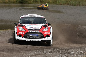 WRC Leg report M-Sport Ford crews survived first day in Wales
