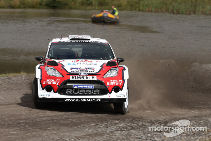 M-Sport Ford crews survived first day in Wales