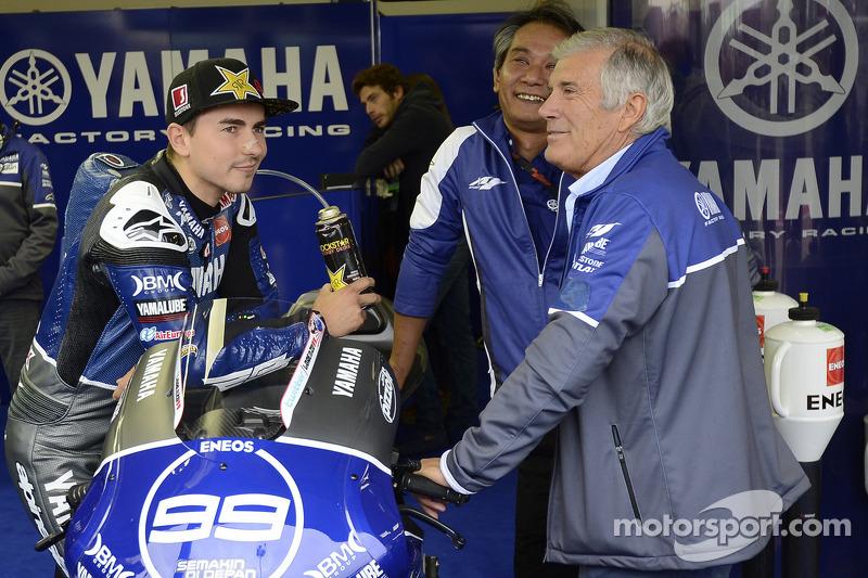 Yamaha's Lorenzo continues Spanish duel in Misano qualifying