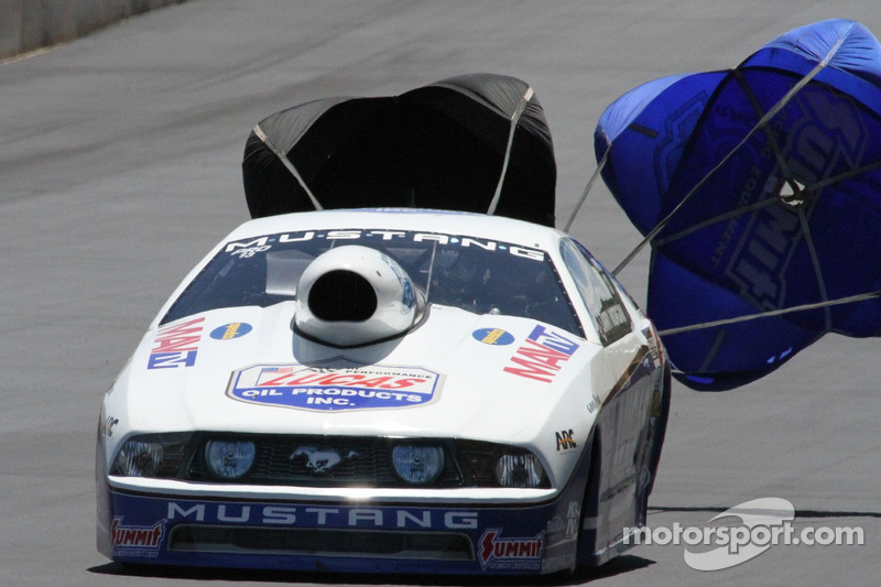 Morgan moves up Pro Stock ladder with round win in Charlotte