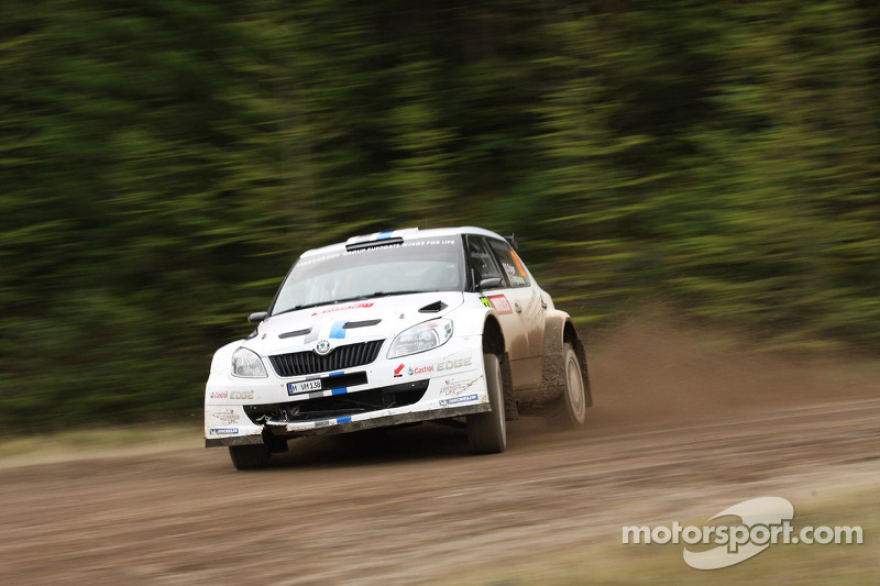 Successful test run: Class win in Wales for Volkswagen