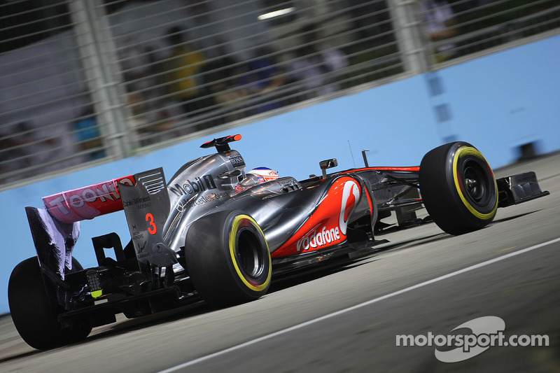 A good starting position for McLaren in Singapore
