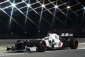 Formula 1 Practice report Kobayashi and Pérez were pretty busy in Friday practice for Singapore GP