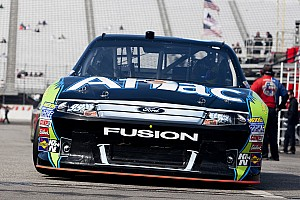 Edwards top Ford in Loudon qualifying