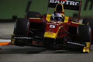GP2 Race report Racing Engineering's Leimer earns feature race podium in Singapore