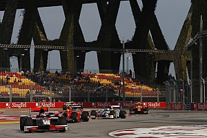 GP2 Race report Coletti leaving the mark in Singapores final round of the GP2 series 2012