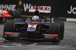 GP2 Race report Mixed fortunes for iSport in season finale in Singapore