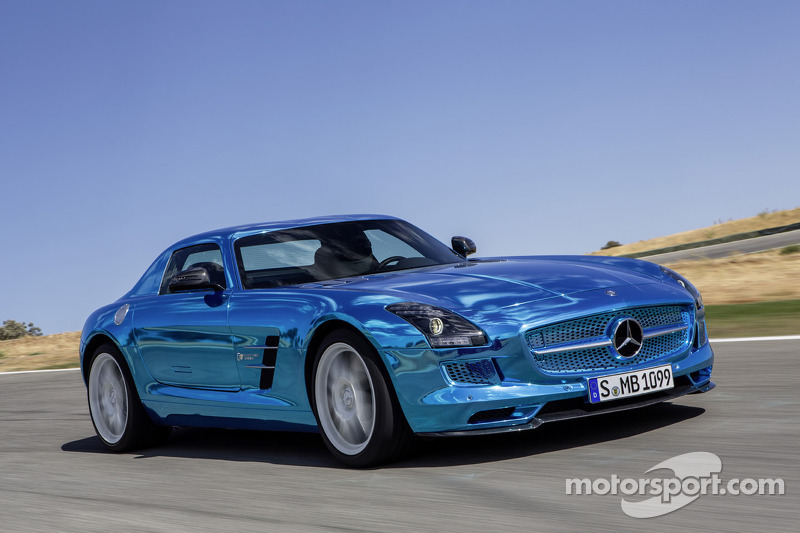 Mercedes-Benz unveils world's most powerful electric super sports car