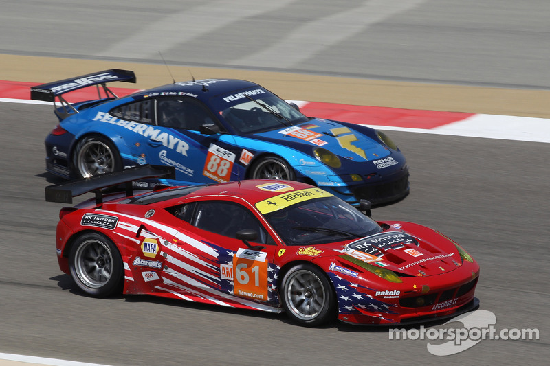 Ferrari and AF Corse win the GT in Bahrain